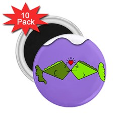 Kissing Fish 2.25  Magnets (10 pack)