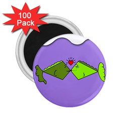 Kissing Fish 2.25  Magnets (100 pack)