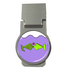 Kissing Fish Money Clips (Round)