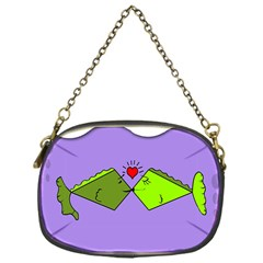 Kissing Fish Chain Purses (One Side)