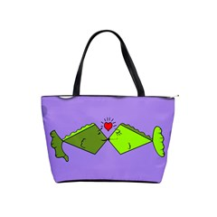 Kissing Fish Shoulder Handbags