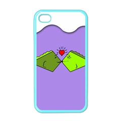 Kissing Fish Apple iPhone 4 Case (Color)
