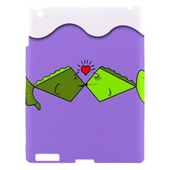 Kissing Fish Apple iPad 3/4 Hardshell Case