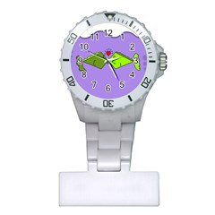 Kissing Fish Plastic Nurses Watch