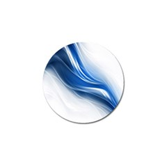 Light Waves Blue Golf Ball Marker (4 pack)
