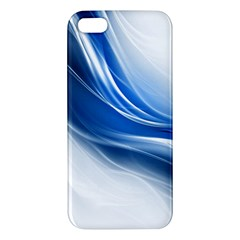 Light Waves Blue Apple iPhone 5 Premium Hardshell Case