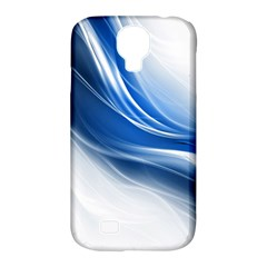 Light Waves Blue Samsung Galaxy S4 Classic Hardshell Case (PC+Silicone)