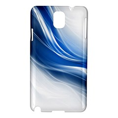 Light Waves Blue Samsung Galaxy Note 3 N9005 Hardshell Case