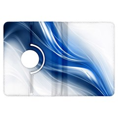 Light Waves Blue Kindle Fire HDX Flip 360 Case