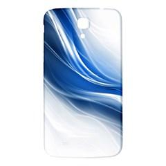 Light Waves Blue Samsung Galaxy Mega I9200 Hardshell Back Case