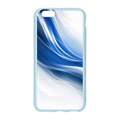 Light Waves Blue Apple Seamless iPhone 6/6S Case (Color)