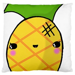 Kawaii Pineapple Large Cushion Case (Two Sides)