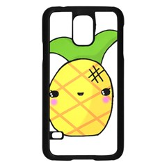 Kawaii Pineapple Samsung Galaxy S5 Case (Black)