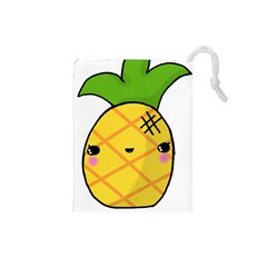 Kawaii Pineapple Drawstring Pouches (Small)