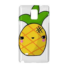 Kawaii Pineapple Samsung Galaxy Note 4 Hardshell Case