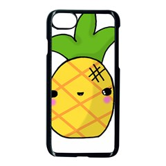 Kawaii Pineapple Apple Iphone 7 Seamless Case (black)
