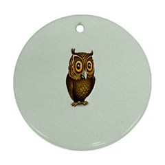 Owl Ornament (Round)