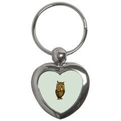Owl Key Chains (Heart)