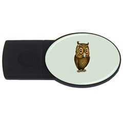 Owl USB Flash Drive Oval (1 GB)