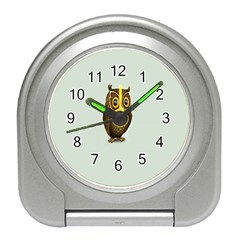 Owl Travel Alarm Clocks