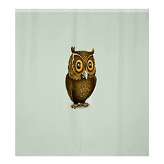 Owl Shower Curtain 66  x 72  (Large)