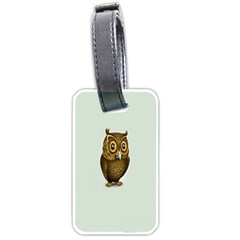 Owl Luggage Tags (Two Sides)