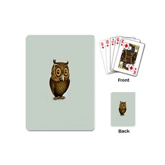 Owl Playing Cards (Mini)