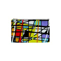 Casual Abstraction Cosmetic Bag (small)