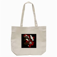 Creative spot - red Tote Bag (Cream)