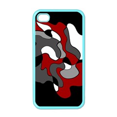 Creative Spot   Red Apple Iphone 4 Case (color)