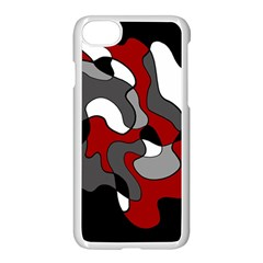 Creative Spot   Red Apple Iphone 7 Seamless Case (white)