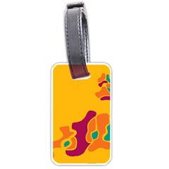 Colorful creativity Luggage Tags (One Side)