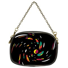 Colorful Twist Chain Purses (one Side)