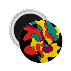 Colorful spot 2.25  Magnets