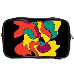 Colorful spot Toiletries Bags 2-Side
