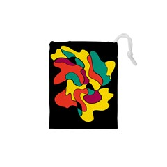 Colorful spot Drawstring Pouches (XS)