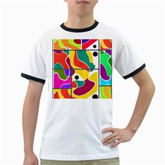 Colorful windows  Ringer T-Shirts