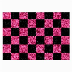 Square1 Black Marble & Pink Marble Large Glasses Cloth