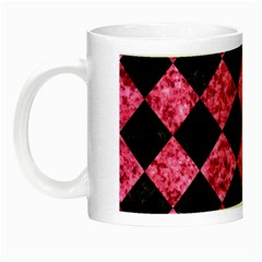 SQR2 BK-PK MARBLE Night Luminous Mugs