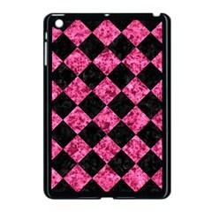 SQR2 BK-PK MARBLE Apple iPad Mini Case (Black)