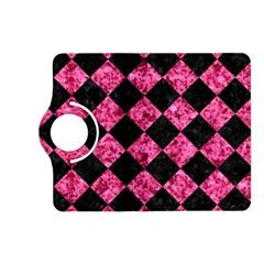 SQR2 BK-PK MARBLE Kindle Fire HD (2013) Flip 360 Case