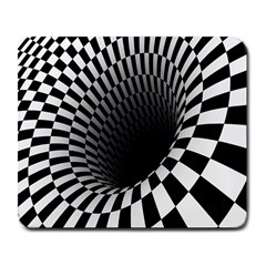 Optical Illusions Large Mousepads