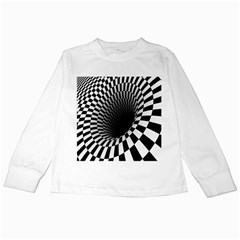 Optical Illusions Kids Long Sleeve T Shirts