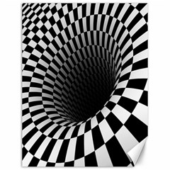 Optical Illusions Canvas 12  x 16