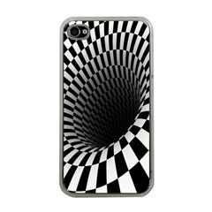 Optical Illusions Apple iPhone 4 Case (Clear)