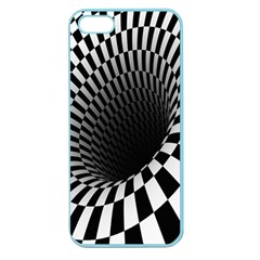 Optical Illusions Apple Seamless iPhone 5 Case (Color)