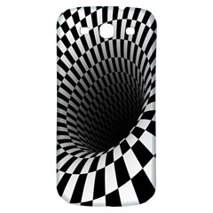 Optical Illusions Samsung Galaxy S3 S III Classic Hardshell Back Case
