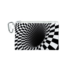 Optical Illusions Canvas Cosmetic Bag (S)