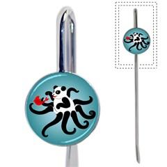 Panda Octopus Fish Blue Book Mark