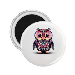 Owl Colorful 2.25  Magnets